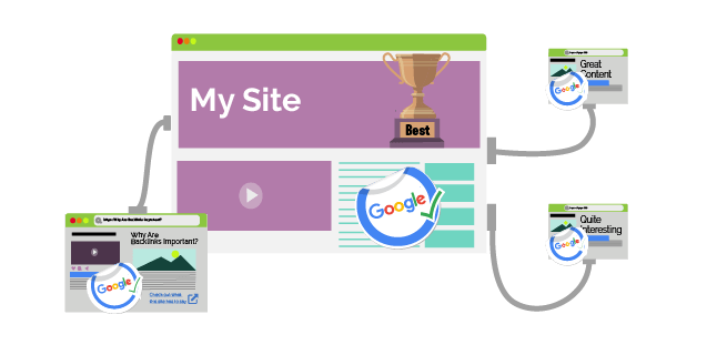 backlinks - less but better